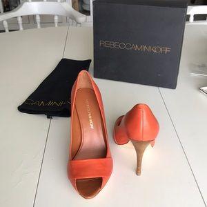 Rebecca Minkoff heels- brand new- never been worn